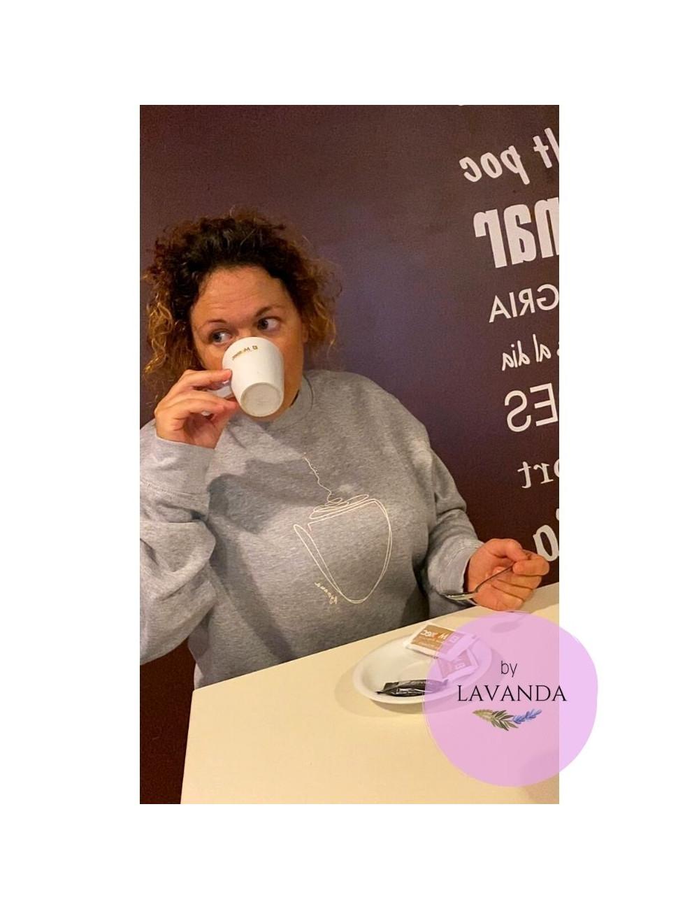 Sudadera coffee