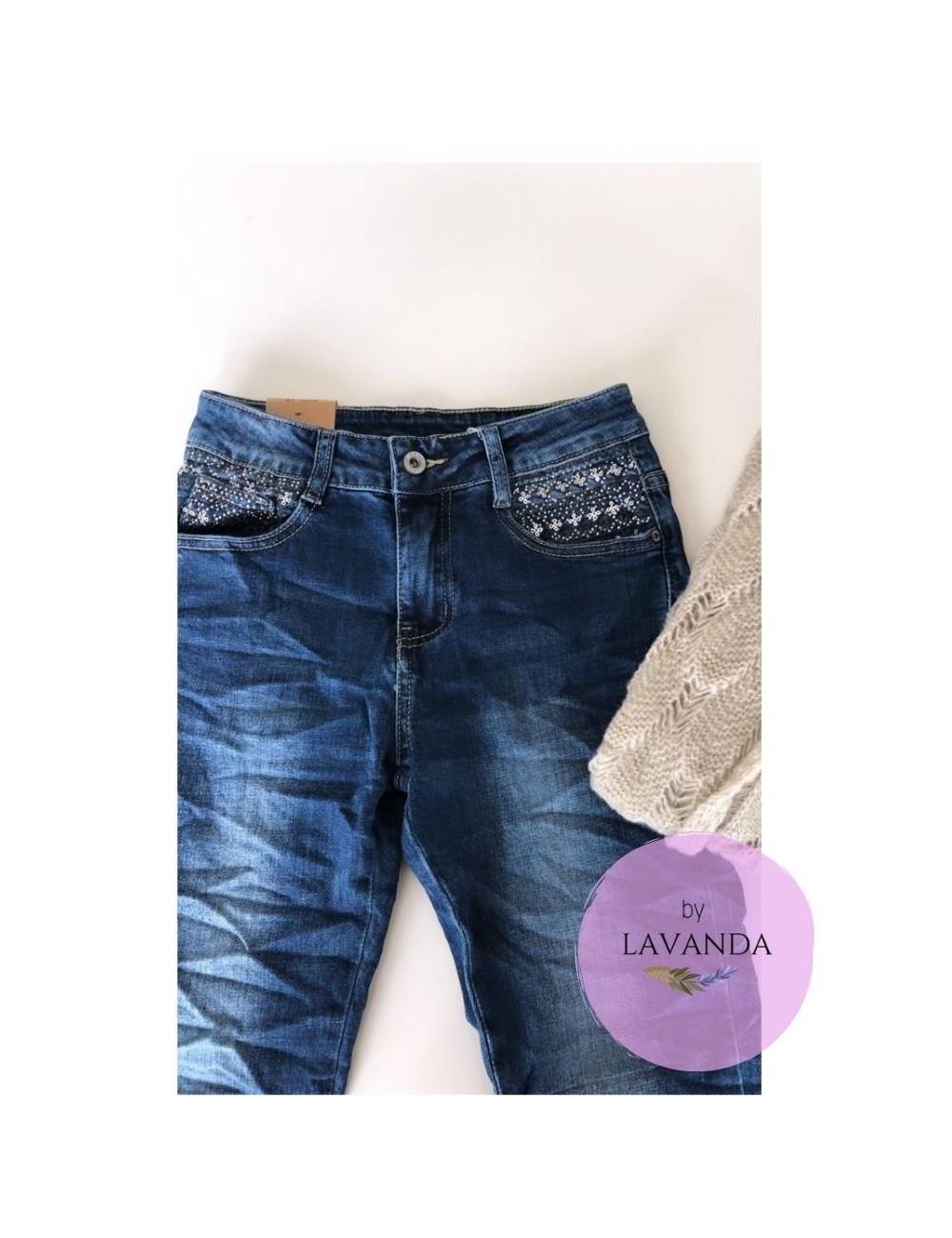 Jeans brillos